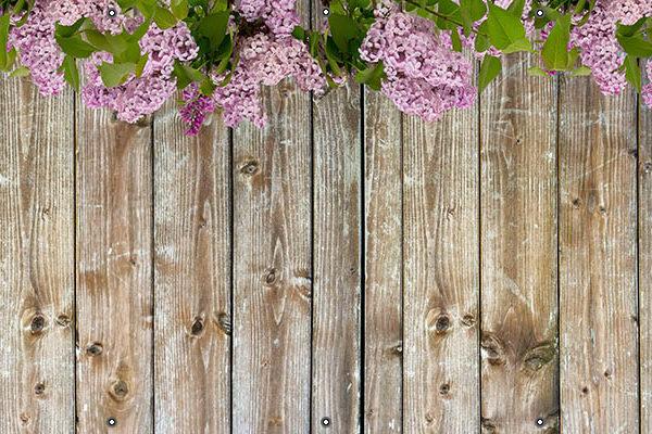 Kwiaty bzu - Osłona na balkon