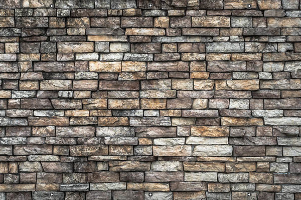 Osłona balkonowa kamień układany