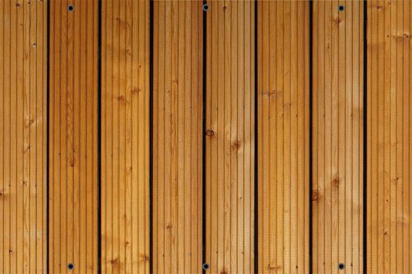 Deski ryflowane - Mata na ogrodzenie i balkon