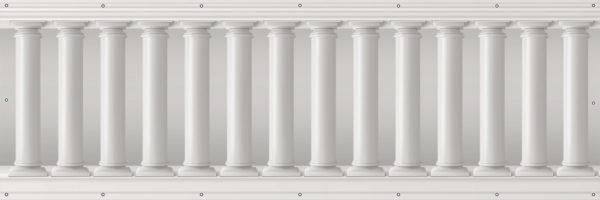 Kolumny greckie - Osłona balkonowa