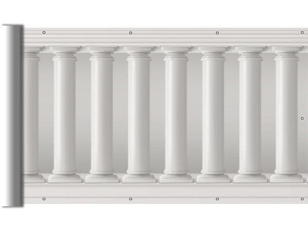 Kolumny greckie - Osłona na balkon