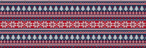 Dekoracja świąteczna, bożonarodzeniowa - Wzór skandynawski