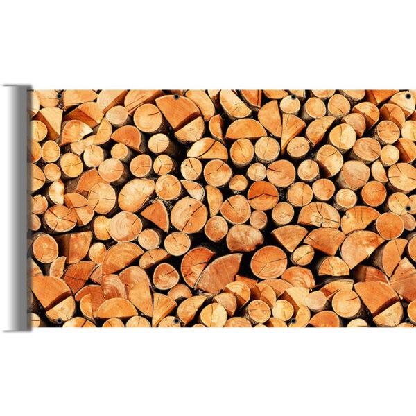 Drewno kominkowe - Osłona na drewno