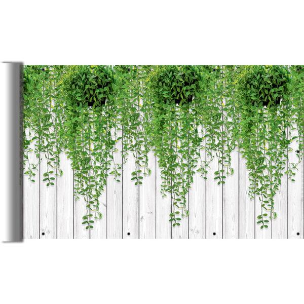Liście na balkon - Osłona na balustradę i płotek