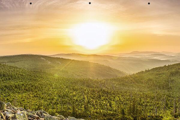 Wschód słońca - Foto osłona